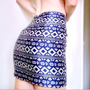 ❤️Forever21 Tribal Skirt